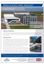 Menai Science Park case study