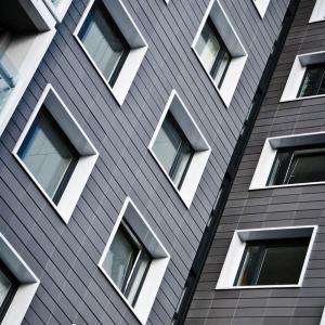 Aluminium window pods