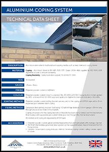JWD Aluminium Coping System datasheet