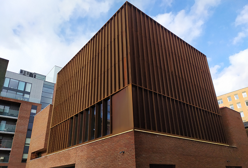 Halle St. Peter's bespoke cladding