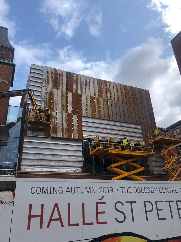 JWD Halle St. Peter's installation works